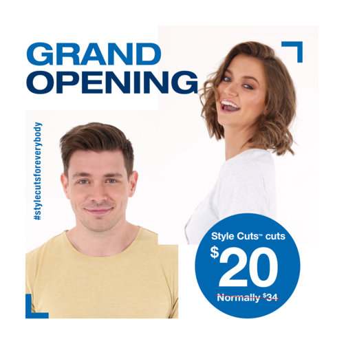 Just Cuts Ormiston salon Grand Opening on March 25