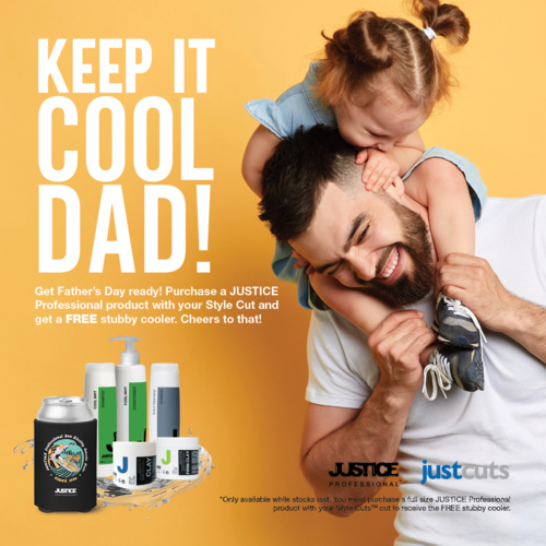 Celebrate Father's day with free gift at Just Cuts